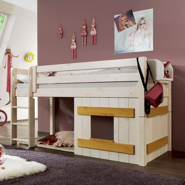 """Holzverkleidung für Mini-Hochbett """"Kiddy"""" von allnatura"""