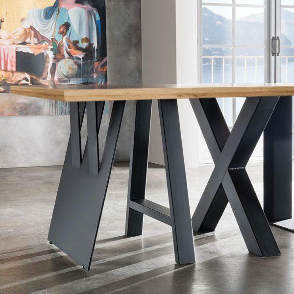 """Tisch-Konfigurator """"Cocina"""" - 100x240cm - Wildeiche"""