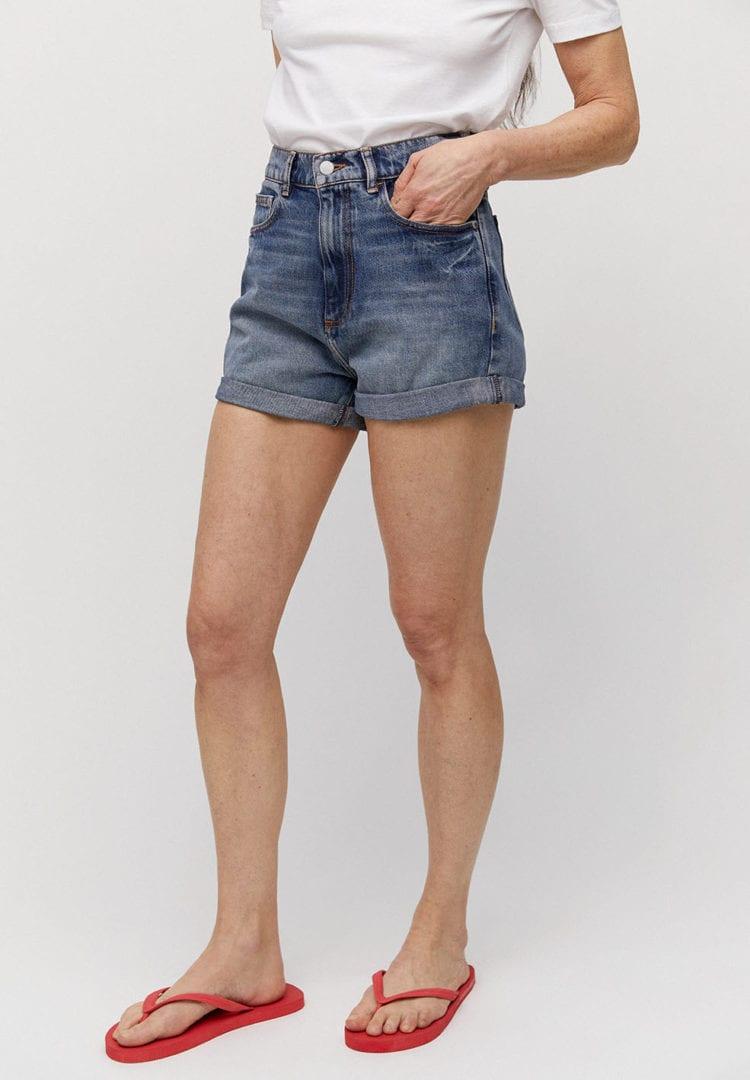 Shorts Silvaa In Denim Blue von ArmedAngels