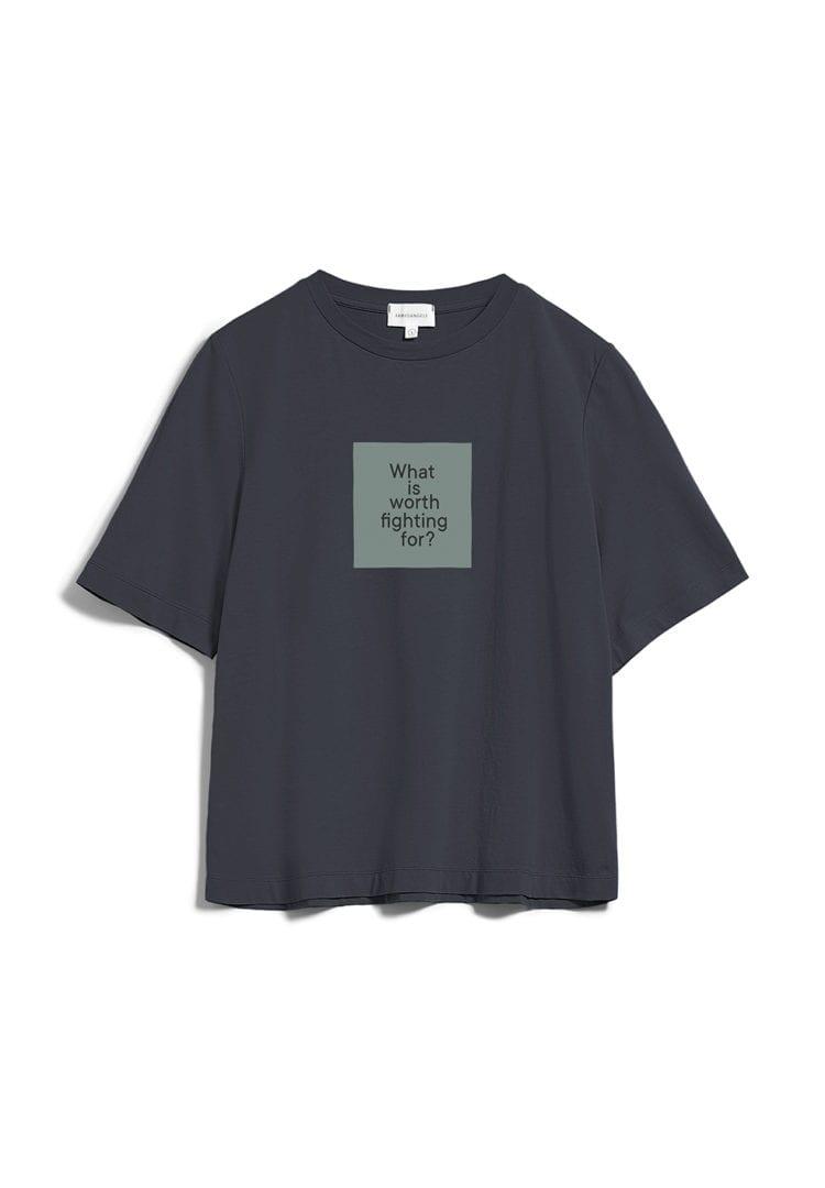 T-shirt Layaa Diary In Anthra von ArmedAngels