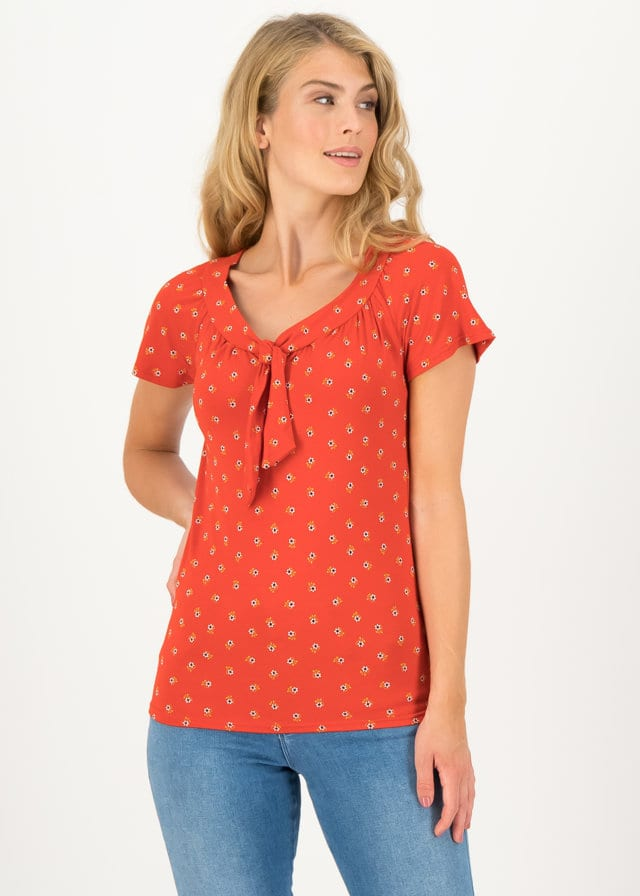 Jersey Shirt Carmelita Rot von blutsgeschwister