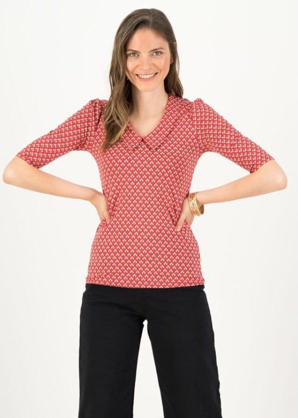 Jersey Shirt Gar So Nett Rot von blutsgeschwister