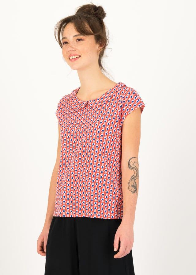 Jersey T-shirt Botanical Bubi Rot von blutsgeschwister