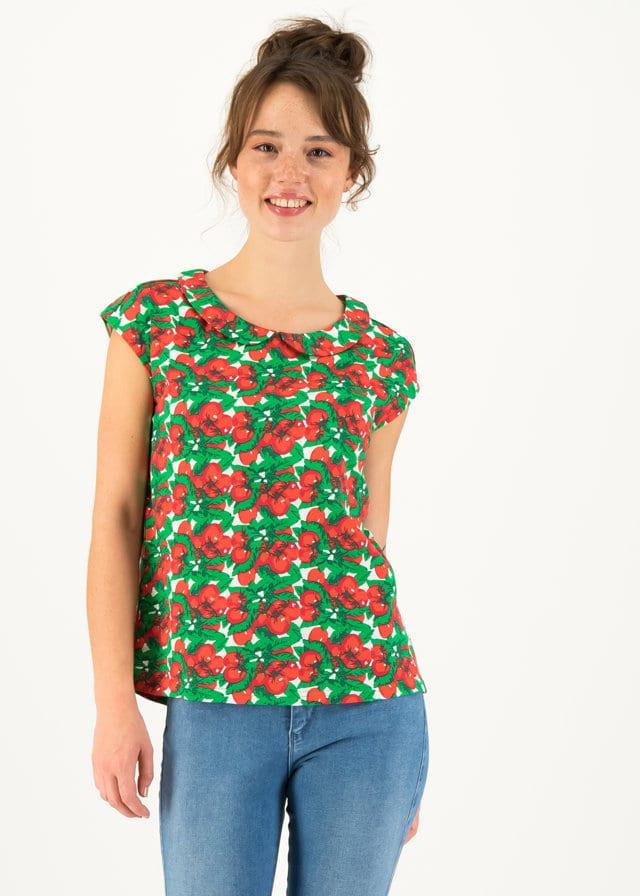 Jersey T-shirt Botanical Bubi Weiß von blutsgeschwister