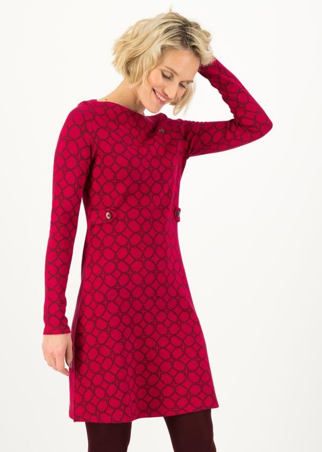 Kleid Sallys Tulip Sixties Rot von blutsgeschwister