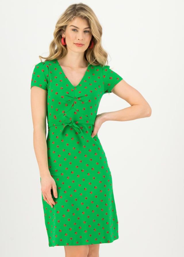 Sommerkleid Sally Tomato Grün von blutsgeschwister