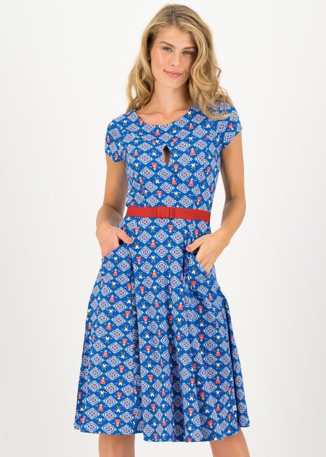 Sommerkleid Shine On Goddess Blau von blutsgeschwister
