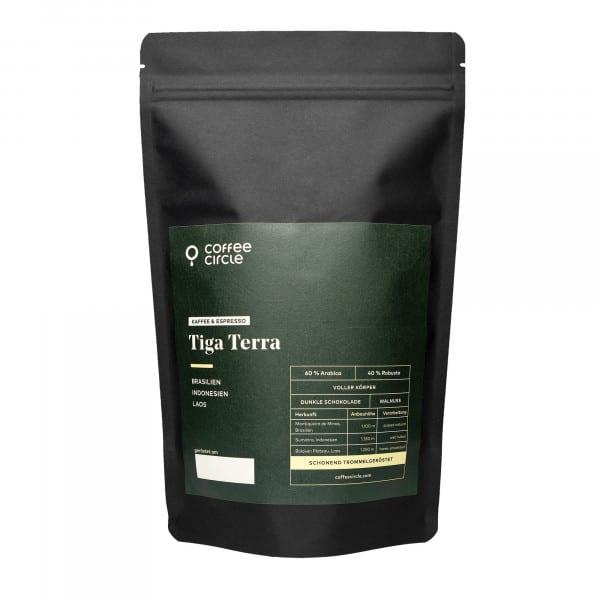 Tiga Terra Kaffee & Espresso 1kg ganze Bohne von Coffee Circle