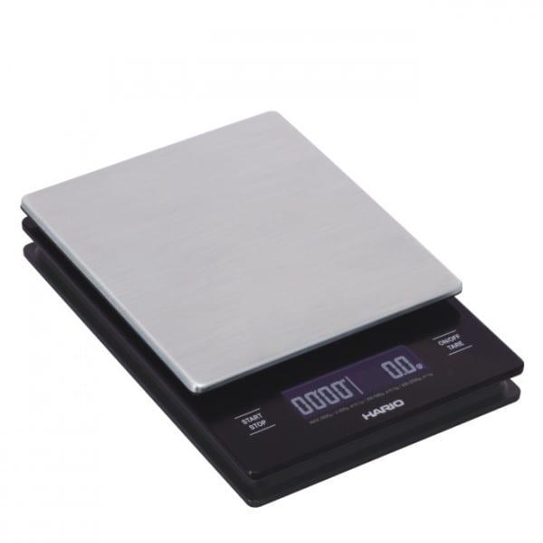 V60 Metal Drip Scale - Waage mit Stoppuhr von Hario