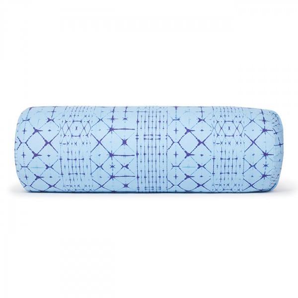 Yoga Bolster Rund - Dye Clear Blue von Manduka