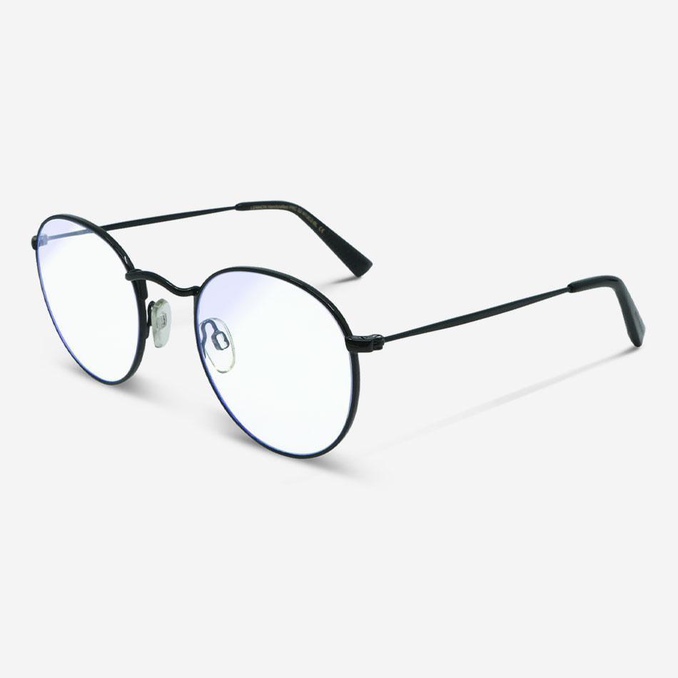 Blaulichtfilterbrillen Lennon Black Unisex von MessyWeekend