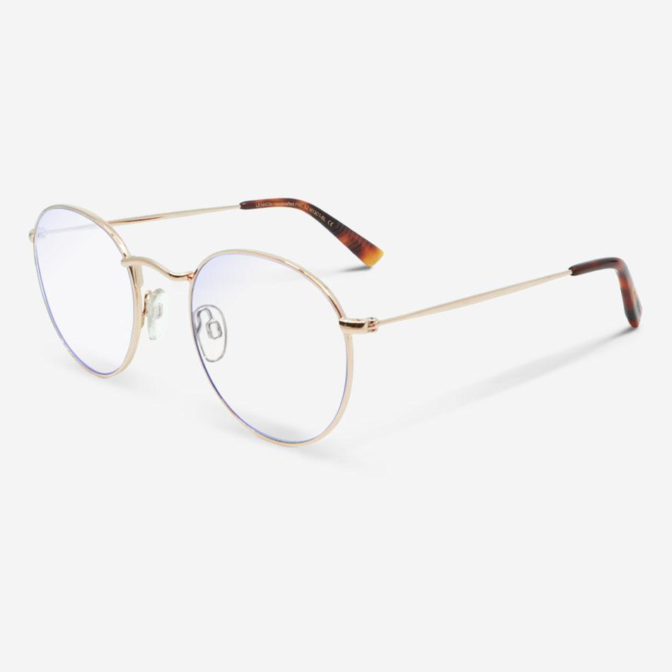 Blaulichtfilterbrillen Lennon Gold Unisex von MessyWeekend