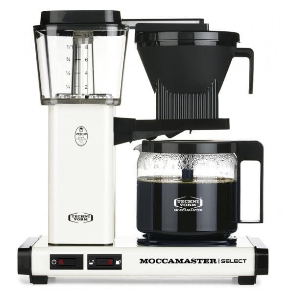 KBG Select Filterkaffeemaschine gebrochenes weiß von Moccamaster