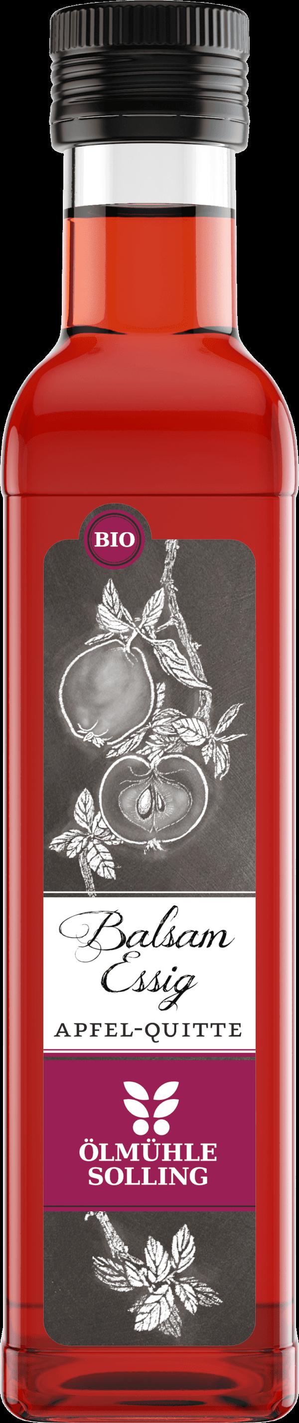 Apfel-Quitten Balsamessig 250 ml von Ölmühle Solling