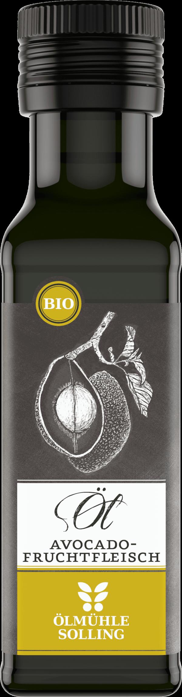 Avocadofruchtfleischöl 100 ml von Ölmühle Solling
