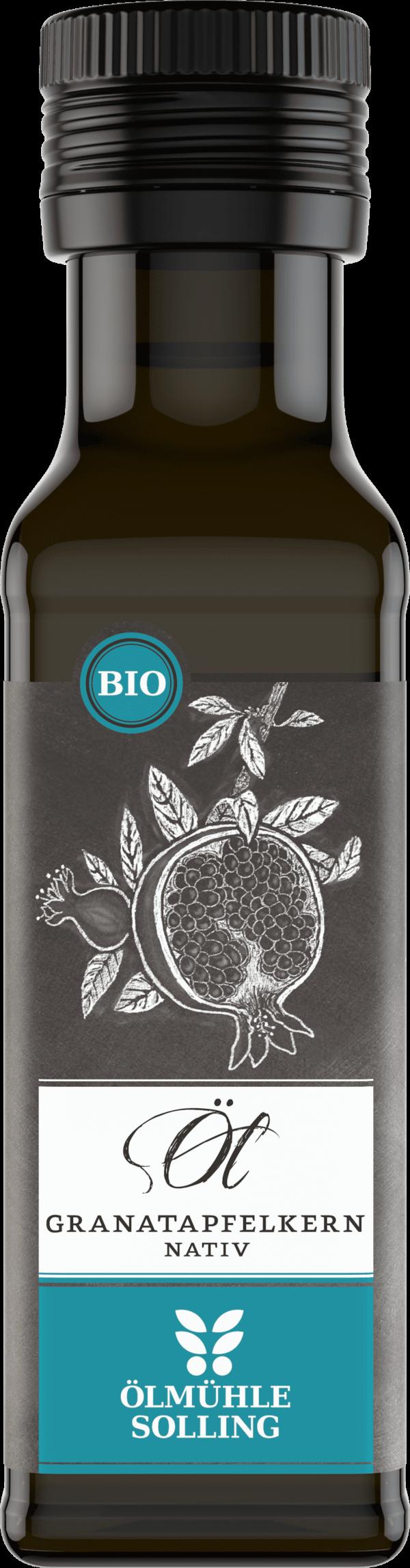 Granatapfelkernöl 100 ml von Ölmühle Solling