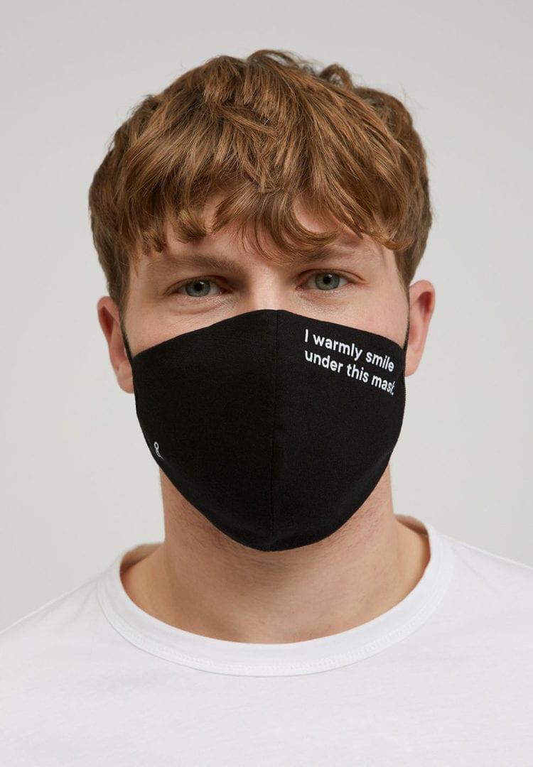 Maske Redaav 2.0 Tc Warmly In Black von ArmedAngels