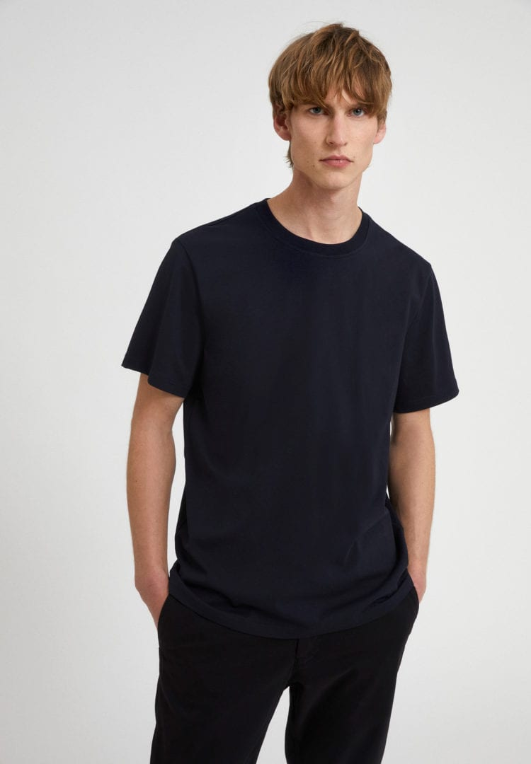 T-shirt Aado In Depth Navy von ArmedAngels