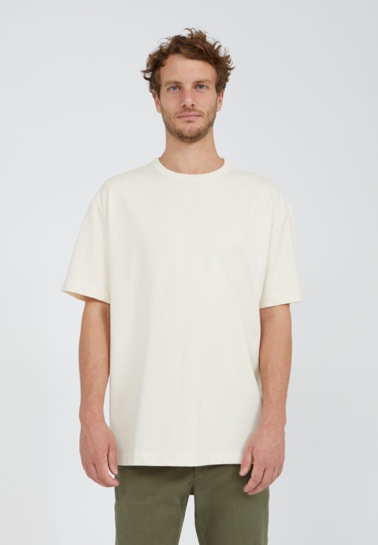 T-shirt Aalex Undyed In Undyed von ArmedAngels
