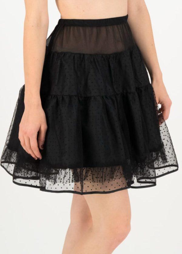 Dreamyourdream Petticoat Schwarz von blutsgeschwister