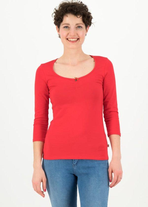 Logo 3/4 Sleeve Shirt Rot von blutsgeschwister