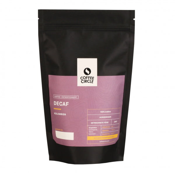 Decaf Kaffee 350g ganze Bohne von Coffee Circle
