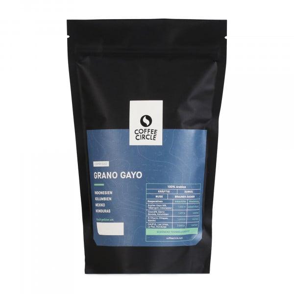 Espresso Grano Gayo 350g ganze Bohne von Coffee Circle