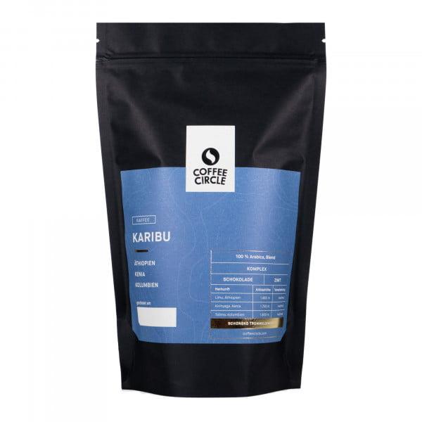 Karibu Kaffee 350g ganze Bohne von Coffee Circle