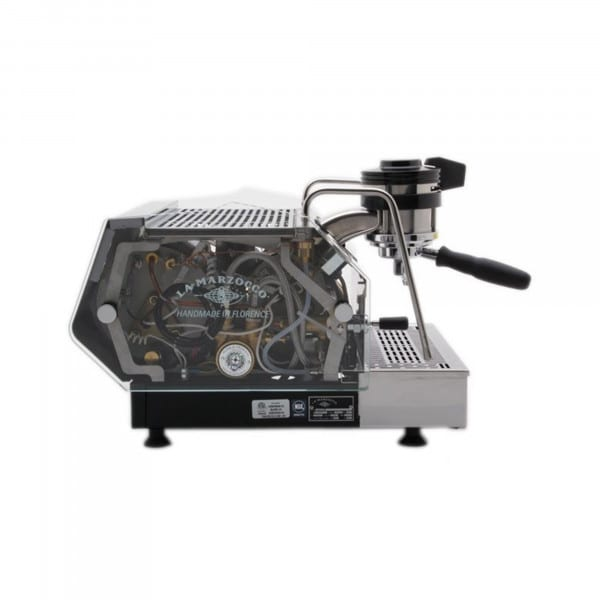 GS/3 – Espressomaschine mit Paddle und Glasabdeckung von La Marzocco