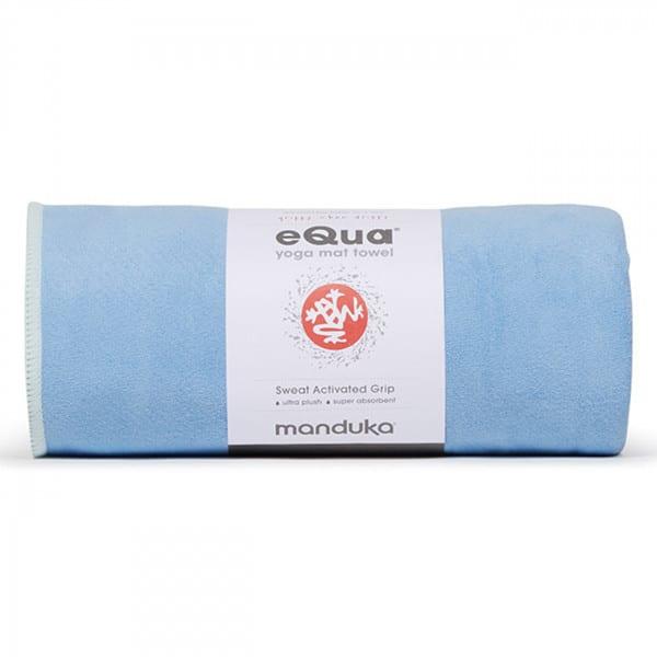 eQua Mattentuch - Clear Blue von Manduka