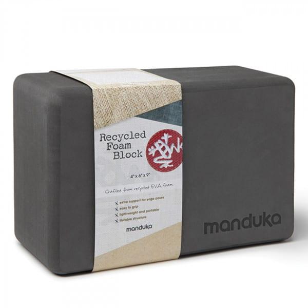 Recycled Foam Block Thunder von Manduka