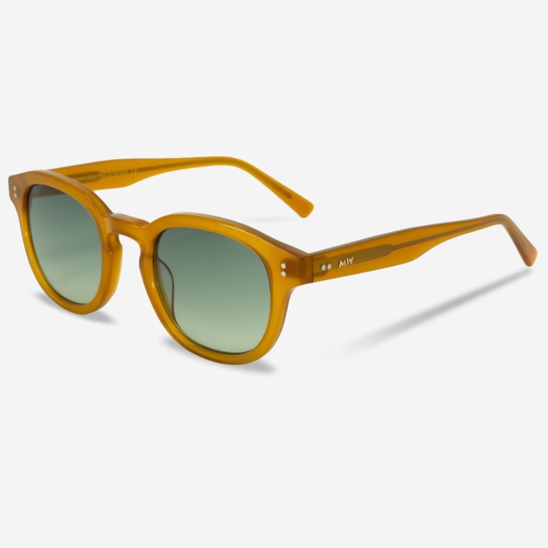 Sonnenbrille Bille Amber Unisex von MessyWeekend