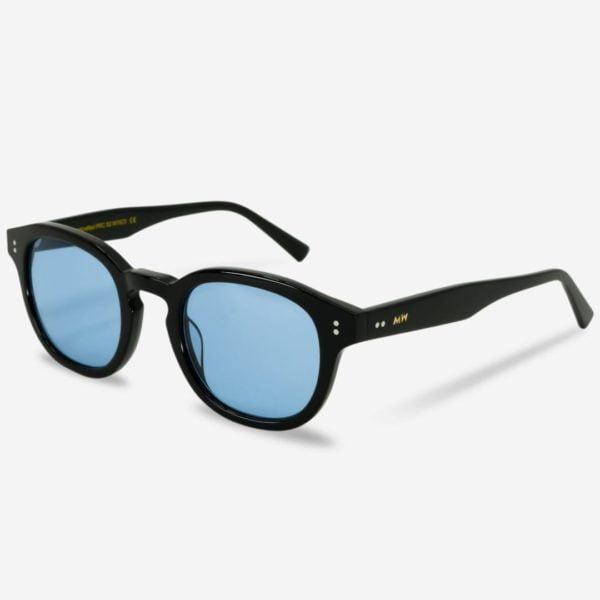 Sonnenbrille Bille Black Unisex von MessyWeekend