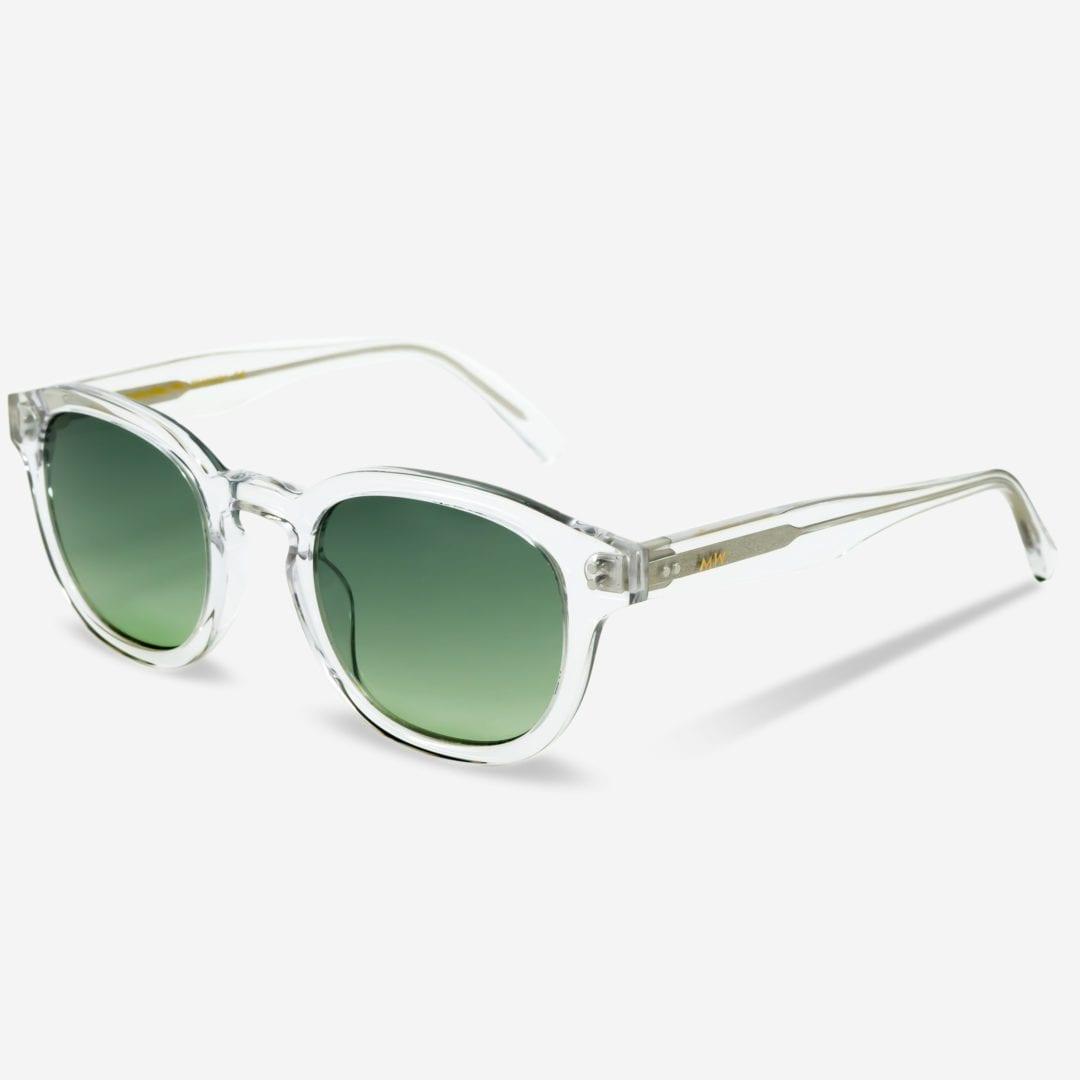Sonnenbrille Bille Crystal Green Unisex von MessyWeekend