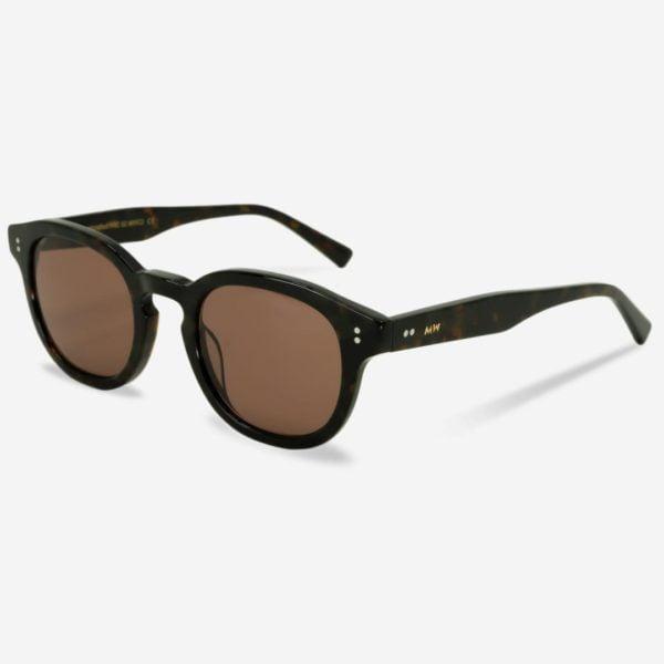 Sonnenbrille Bille Tortoise Unisex von MessyWeekend