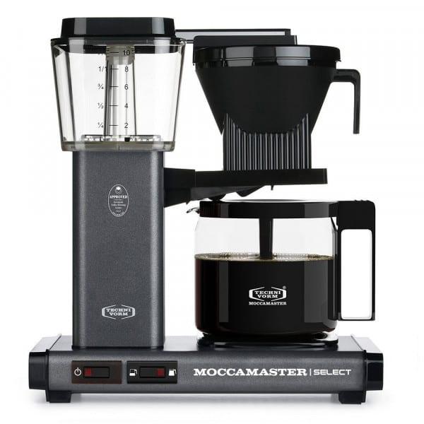 KBG Select Filterkaffeemaschine steingrau von Moccamaster