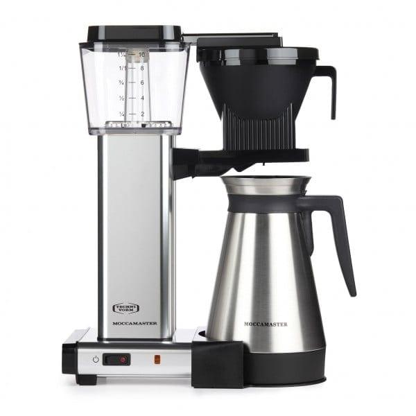 Moccamaster KBGT 741 – Filterkaffeemaschine alu poliert von Technivorm