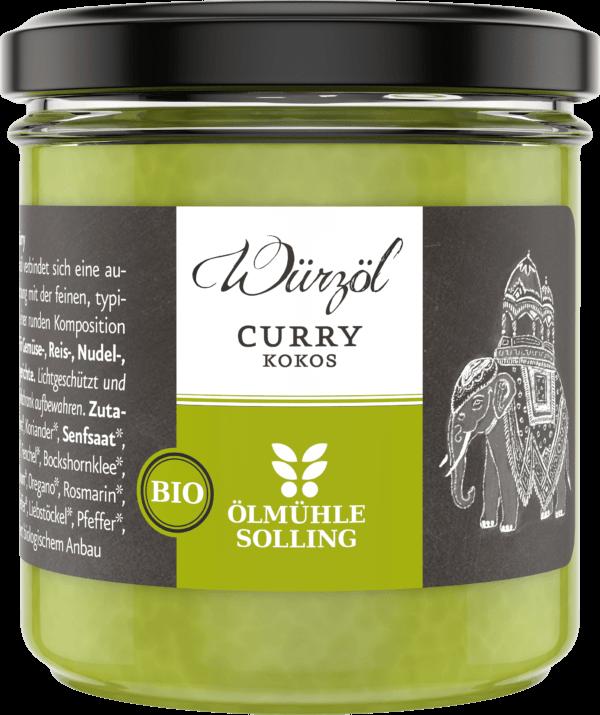 Curry Kokoswürzöl 100 g von Ölmühle Solling