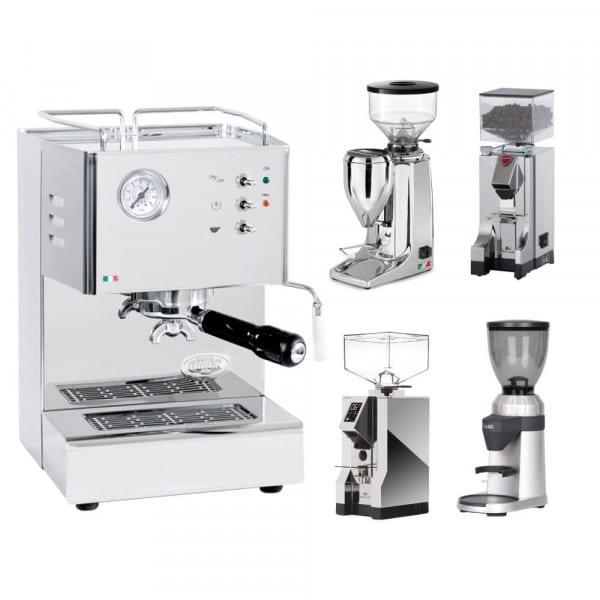 Orione + Espressomühle im Set Quamar M80E von QuickMill