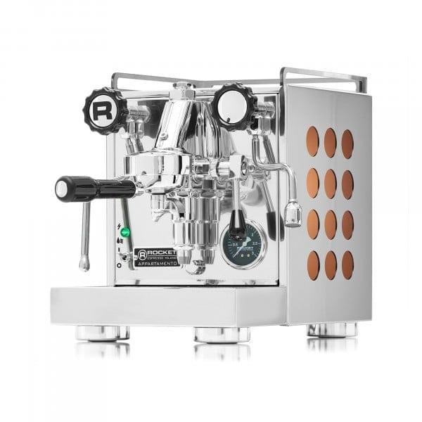Rocket Appartamento Espressomaschine kupfer von Rocket Espresso Milano