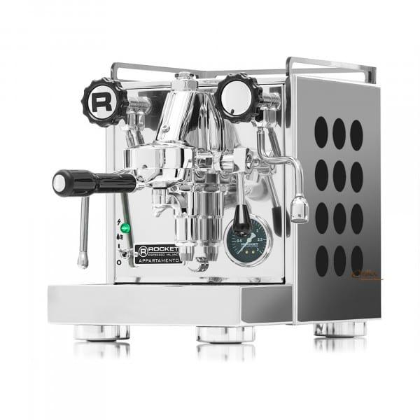 Rocket Appartamento Espressomaschine schwarz von Rocket Espresso Milano