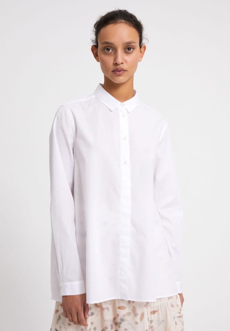 Bluse Blancaa In White von ArmedAngels