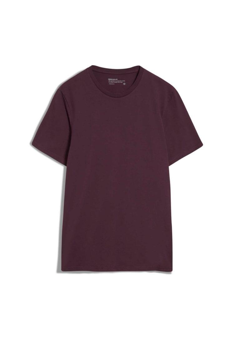 T-shirt Jaames In Dark Aubergine von ArmedAngels