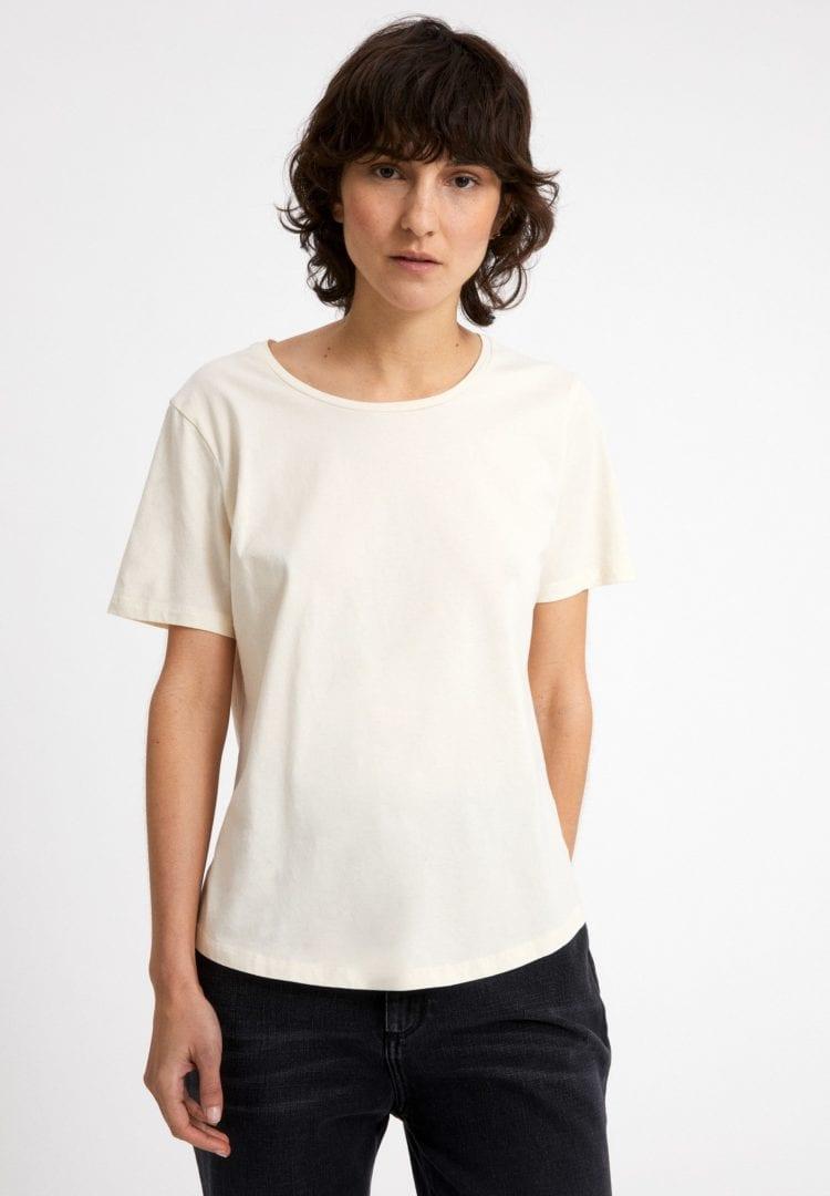 T-shirt Minaa In Undyed von ArmedAngels