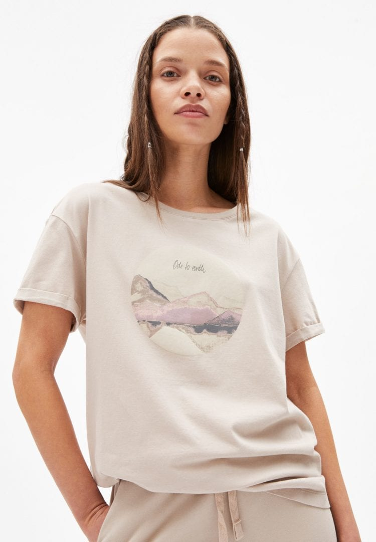 T-shirt Naalin Ode To Earth In Light Desert von ArmedAngels