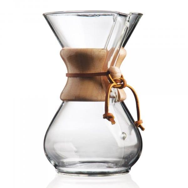 '-Kaffeekaraffe für bis zu 6 Tassen von Chemex