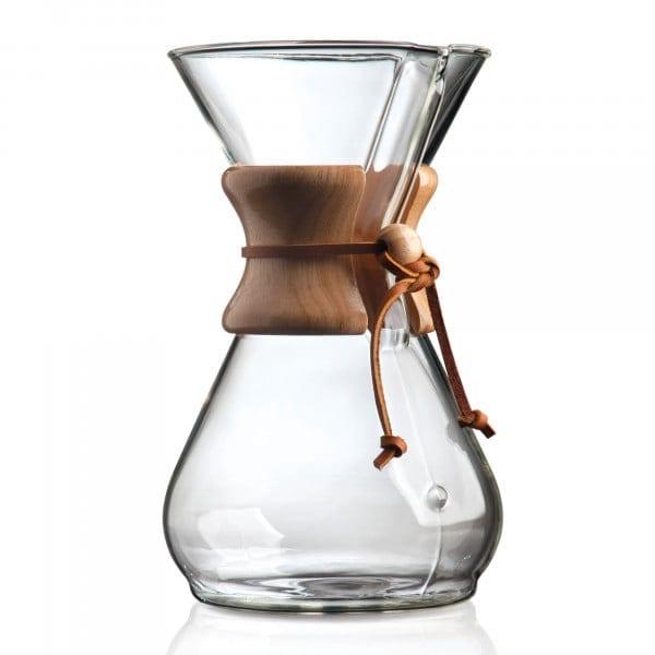 '-Kaffeekaraffe für bis zu 8 Tassen von Chemex