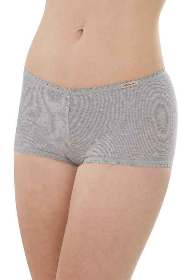 Hot-pants - Grau-melange von Comazo