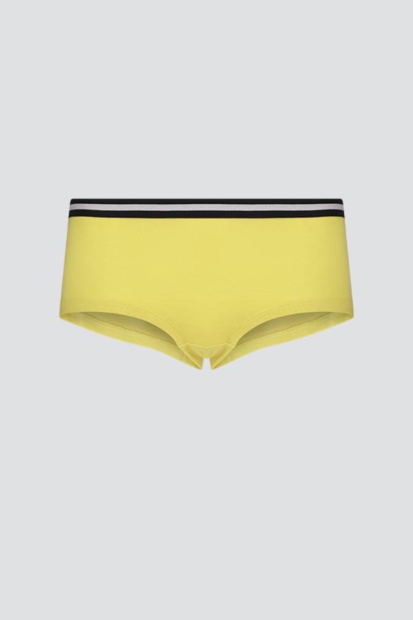 Hot-pants Low Cut - Gelb von Comazo