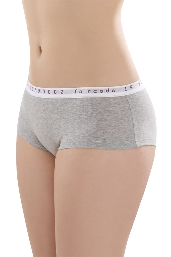 Hot Pants Low-cut - Grau-melange von Comazo
